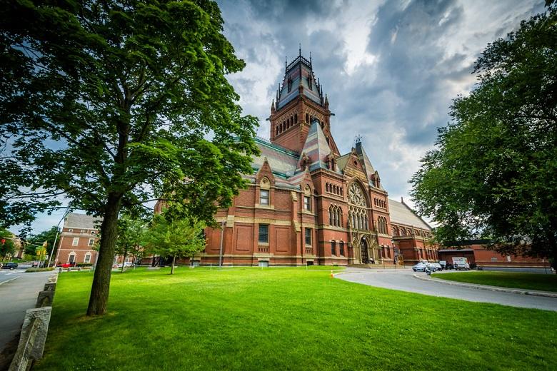 The Harvard Memorial Hall, at Harvard University