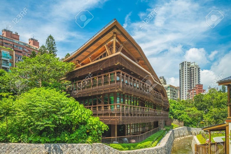 Beitou Public Library – Taipei, Taiwan