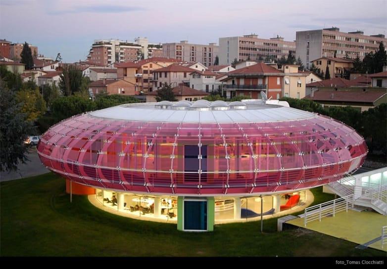 Mediatheque Sandro Penna - Perugia, Italy