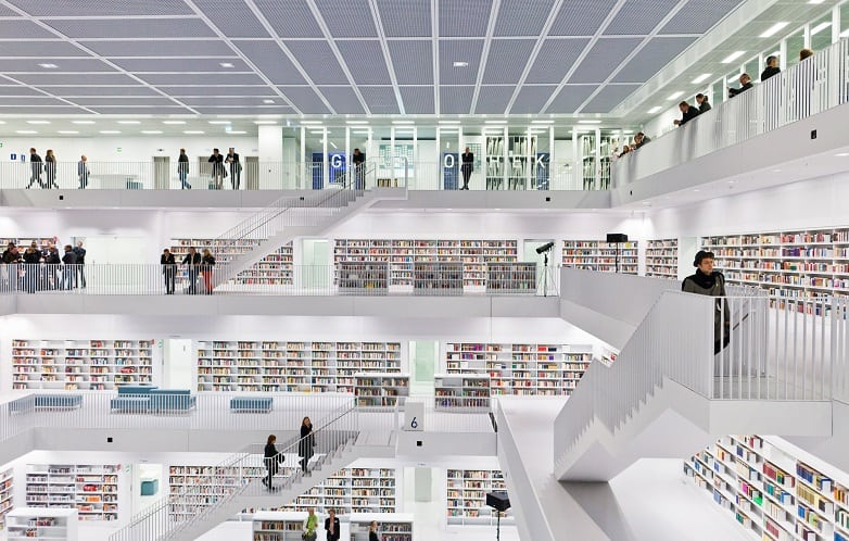 Stuttgart City Library – Stuttgart, Germany