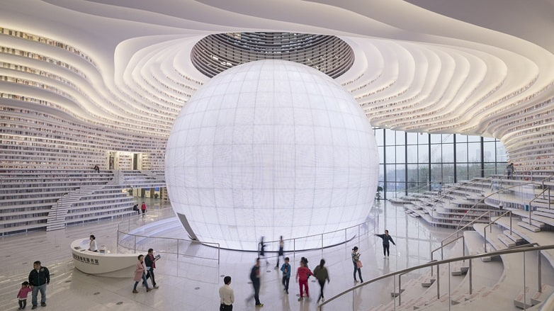 The Tianjin Binhai Library – Tianjin, China